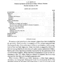 Studies on Inheritance in pigeons 10. Relation of Chocolate to Black and Dominant Red - 1930 - English.pdf