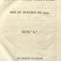 Anales de historia natural Volume 1 - 1799 - Spanish.pdf